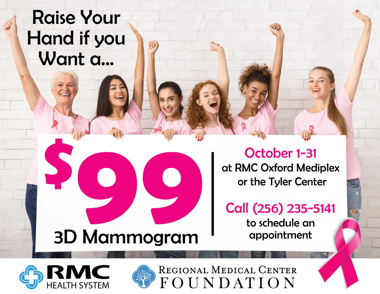 3D Mammogram Information
